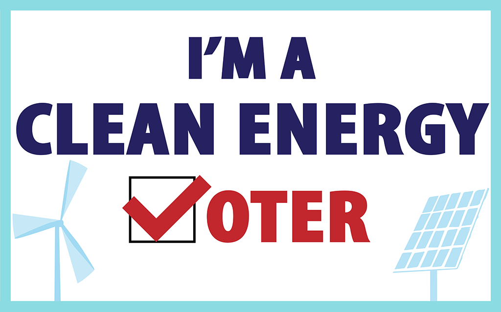 Clean Energy Voter sized for twitter